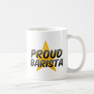 Barista orgulloso tazas