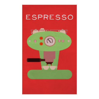 Espresso Posters | Zazzle