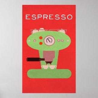 Barista's Art Collection: Espresso Poster