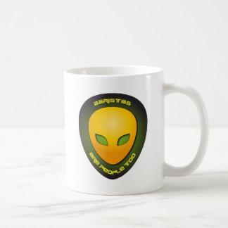 Baristas es gente también tazas de café