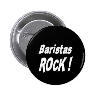 Baristas Rock! Button