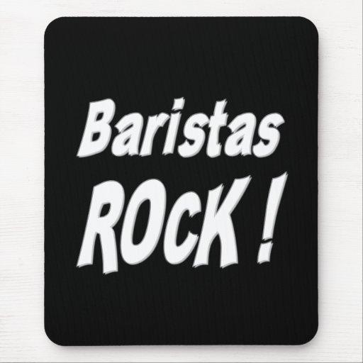 Baristas Rock! Mousepad