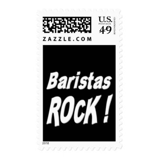 Baristas Rock ! Postage