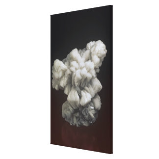 Barite Crystal Canvas Print