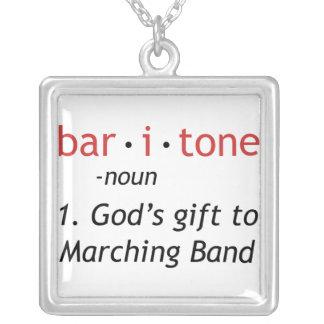 Baritone Definition Pendants