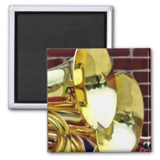 Baritone Horns 2 Inch Square Magnet