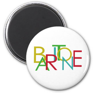 Baritone Letters Magnet
