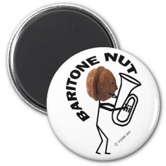 Baritone Nut 2 Inch Round Magnet
