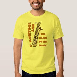 Baritone Sax Tee Shirt