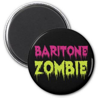 Baritone Zombie 2 Inch Round Magnet