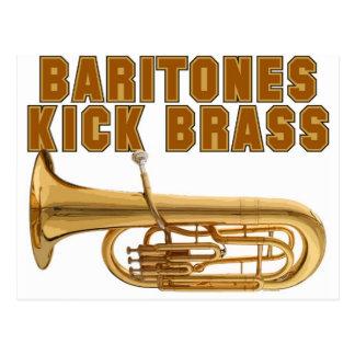 Baritones Kick Brass Postcard