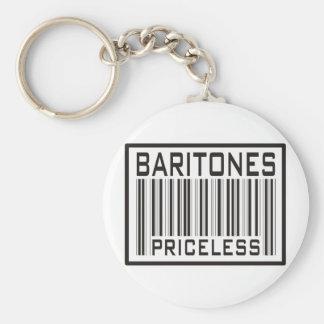 Baritones Priceless Basic Round Button Keychain