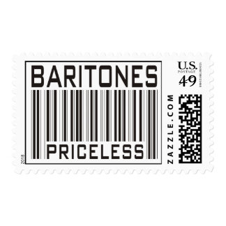 Baritones Priceless Stamp