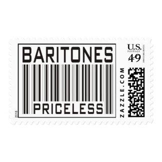 Baritones Priceless Postage Stamp