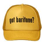 ¿barítono conseguido? gorra