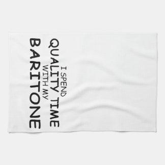 Barítono del tiempo de la calidad toalla