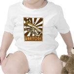 Barítono retro traje de bebé