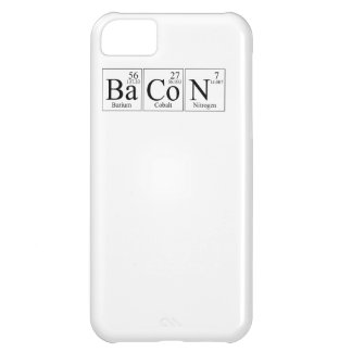 Barium Cobalt Nitrogen Bacon Case For iPhone 5C