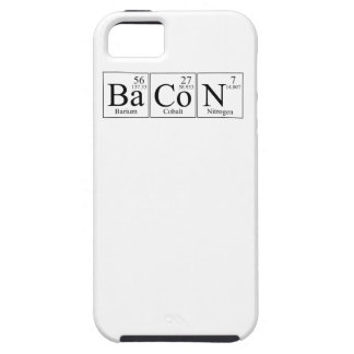 Barium Cobalt Nitrogen Bacon iPhone SE/5/5s Case