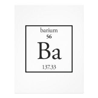 Barium Full Color Flyer