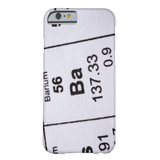 Barium molecular formula barely there iPhone 6 case