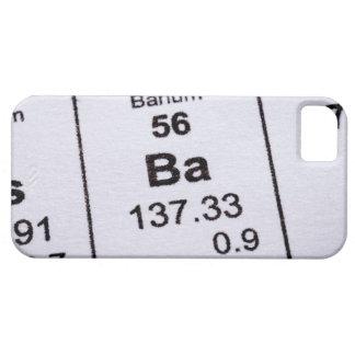 Barium molecular formula iPhone 5 case