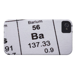 Barium molecular formula Case-Mate iPhone 4 case