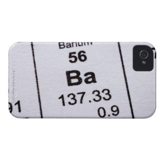 Barium molecular formula iPhone 4 case