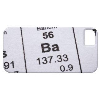 Barium molecular formula iPhone SE/5/5s case