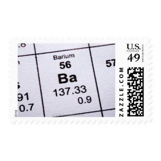 Barium molecular formula postage