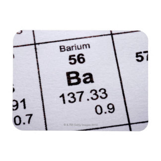 Barium molecular formula rectangular photo magnet
