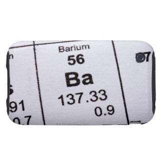 Barium molecular formula tough iPhone 3 case