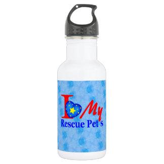 """Bark4Rescue Adoption Drive"" Water Bottle"