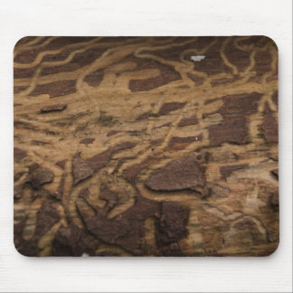 bark_1 de madera tapete de ratones