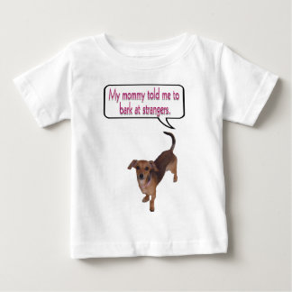 bark at strangers.png baby T-Shirt