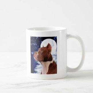 Bark at the moom coffee mug