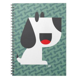 Bark Bark (Green) - Notebook