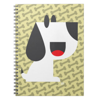 Bark Bark (Yellow) - Notebook