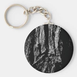 Bark Basic Round Button Keychain