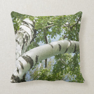 BARK BIRCH THROW PILLOW