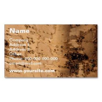 Bark Business Card Magnet