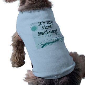 """Bark""day Shirt"