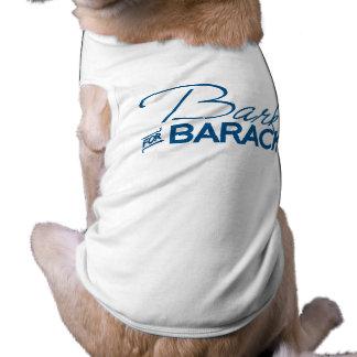 BARK FOR BARACK.png Doggie T Shirt