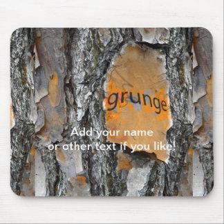 Bark Grunge Fun Design Mouse Pad