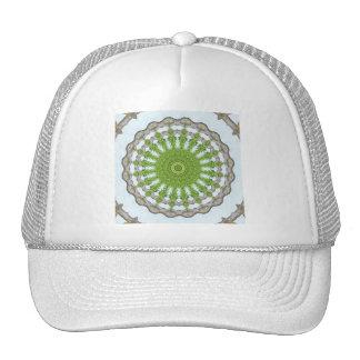 Bark Leaves Stone Kaleidoscope Art 3 Trucker Hat
