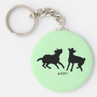 Bark, live, laugh keychains
