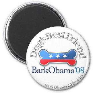 Bark Obama dog's Best friend magnet