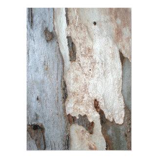 Bark Of A Eucalyptus Tree Card
