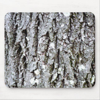 Bark Of A Hickory Tree Mouse Pad