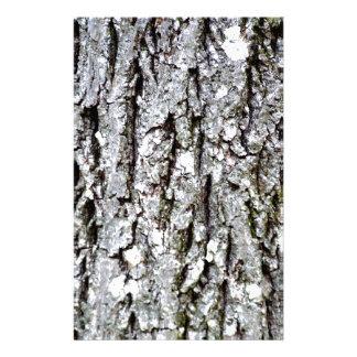 Bark Of A Hickory Tree Stationery